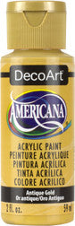 Antique Gold Acrylic Paint