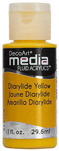 Diarylide Yellow Fluid Acrylic (Series 3)