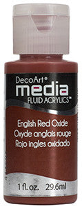 English Red Oxide Fluid Acrylic (Series 2)