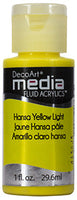Hansa Yellow Light Fluid Acrylic (Series 2)