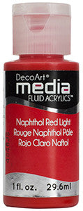 Napthol Red Light Fluid Acrylic (Series 3)