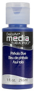 Phthalo Blue Fluid Acrylic (Series 3)