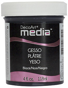 Media Black Gesso