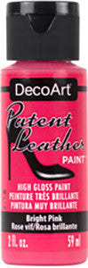 Bright Pink Patent Leather Paint