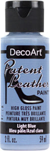 Light Blue Patent Leather Paint