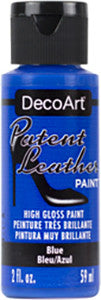 Blue Patent Leather Paint