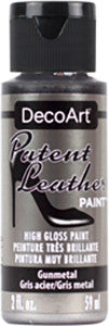 Gunmetal Patent Leather Paint