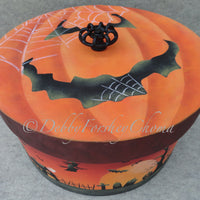 Trick or Treat Goodie Bucket E-Pattern