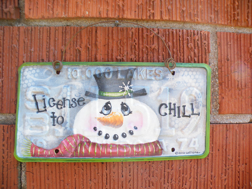 License to Chill E-Pattern by Sandy LeFlore