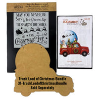 Truck Load of Christmas Plaque E-Pattern by Chris Haughey