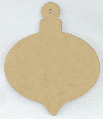 Teardrop Ornament Plaque