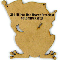 Hop Hop Hooray! Ornament E-Pattern