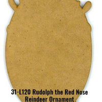 Rudolph the Red Nose Reindeer Ornament Pattern
