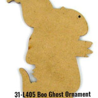 Boo Ghost Ornament Pattern by Chris Haughey