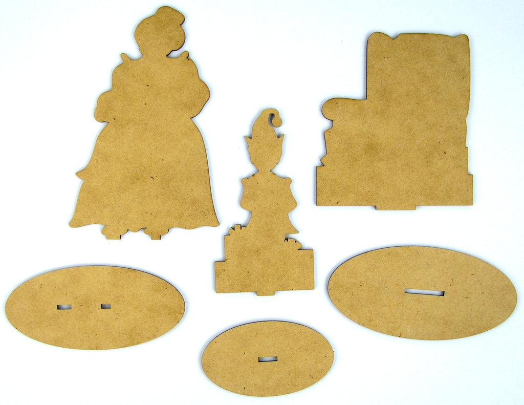 Cookies for Santa Wood Kit