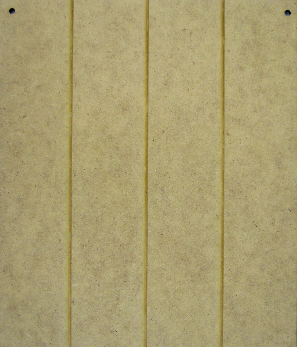 Vertical Grooved Board