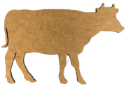 "12"" Cow Plaque"