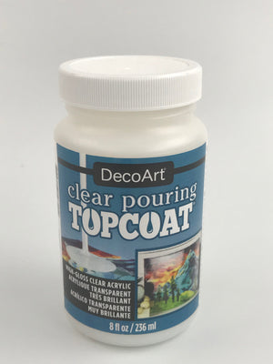Decoart 8oz Pouring Topcoat