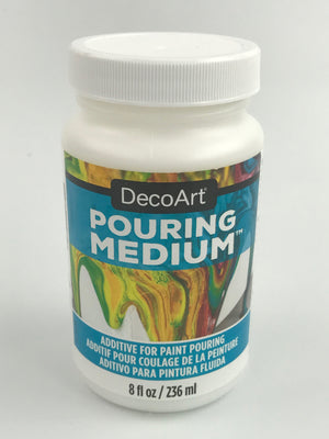 Decoart 8oz Pouring Medium