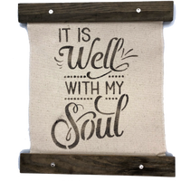 It is Well With My Soul Stencil