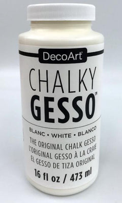 Chalky Gesso - White