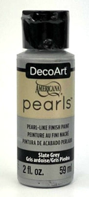 Slate Grey Pearls Acrylic Paint by DecoArt