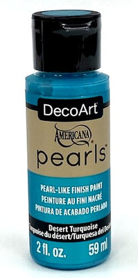 Desert Turquoise Pearls Acrylic Paint by DecoArt