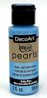 Baby Blue Pearls Acrylic Paint by DecoArt