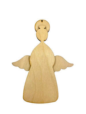 Angel with Harp Ornament Kit