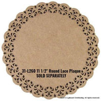 Lavender Lace Plaque Pattern by Chris Haughey