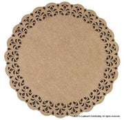 "11-1/2"" Round Lace Plaque"