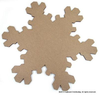 "5-1/2"" Flurry Snowflake Coaster"