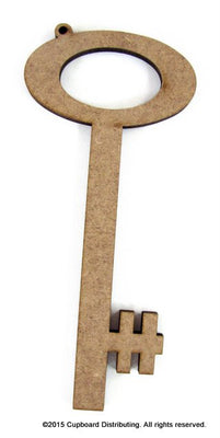 "6"" Laser Cut Key Ornament"