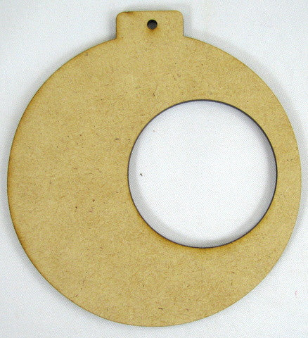 Side Frame Round Infinity Ornament