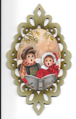 Christmas Carolers E-Pattern By Sharon Shannon