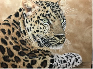 Leopard E-Pattern By Debbie Cushing