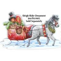 Sleigh Rides Ornament Pattern by Chris Haughey