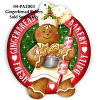 Gingerbread Bakery Ornament Bundle