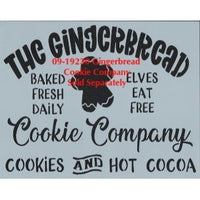 Gingerbread Cookie Company Pattern by Chris Haughey