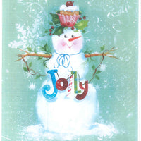 Jolly Snowman E-Pattern By Sandra Malone