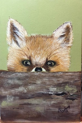 Peek a Boo Fox E-Pattern By Debbie Cushing