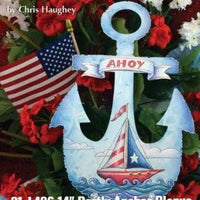 AHOY! Anchor Plaque E-Pattern by Chris Haughey