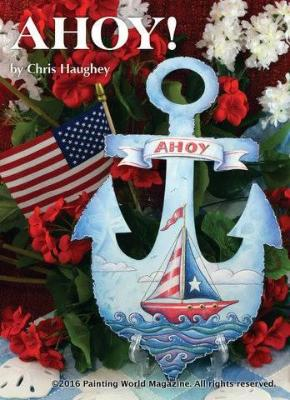 "14"" Portly Anchor Plaque"