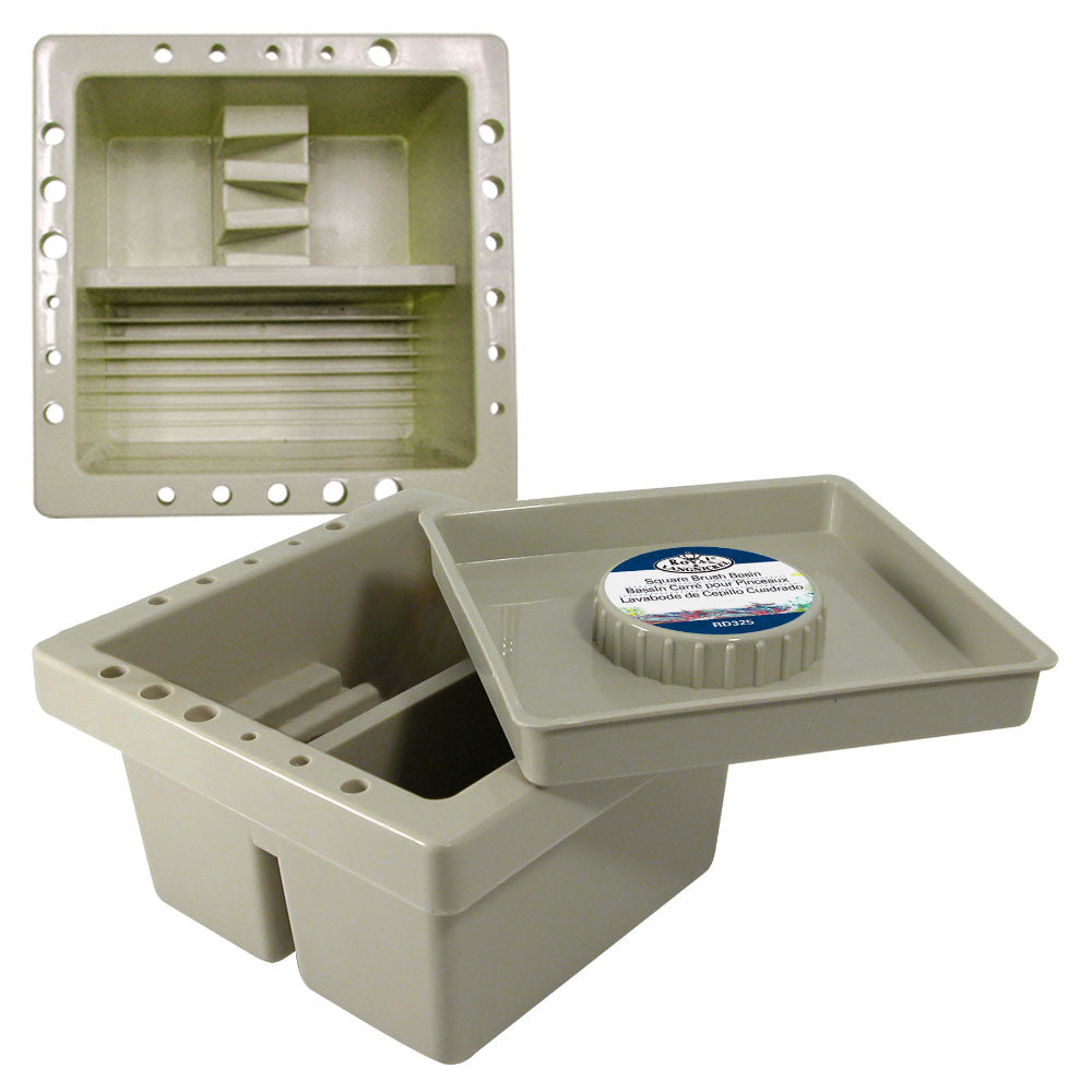 Square Brush Basin