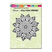 Arabesque Cling Rubber Stamp