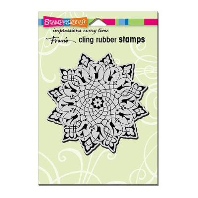 Stampendous Arabesque Cling Rubber Stamp