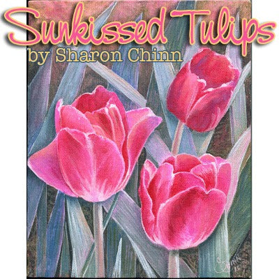 Sunkissed Tulips E-Pattern