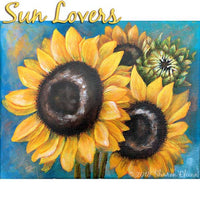 Sun Lovers - Sunflowers E-Pattern
