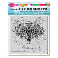 Ornate Cling Rubber Stamp