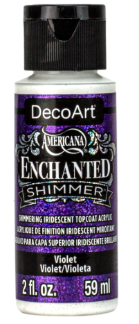 Violet Enchanted Shimmer Acrylic Paint by DecoArt